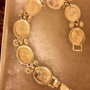 Black and silver bracelet excellent condition $18